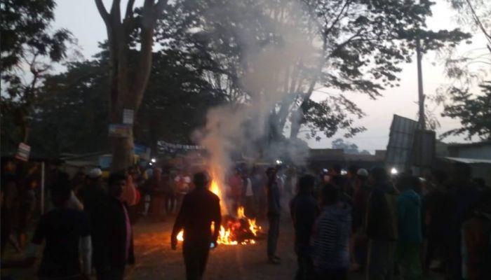 ভাঙ্গায় নিক্সন-জাফরউল্লাহ সমর্থকদের সংঘর্ষে আহত ৫