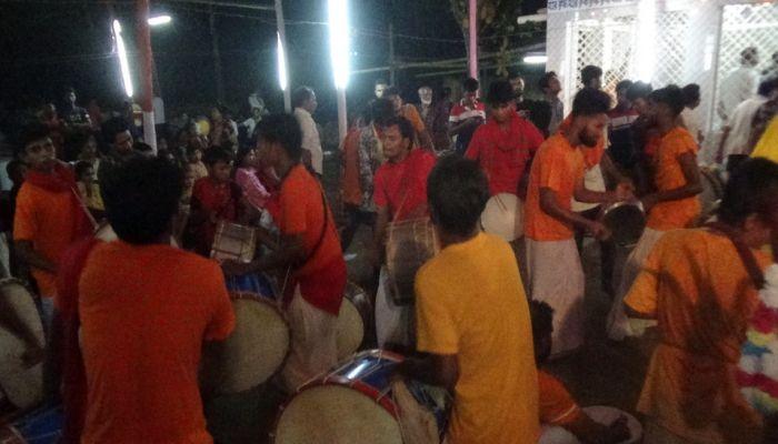 ফরিদপুরে মহাশ্মশান কালী মন্দিরে ৩ দিনের ধর্মীয় উৎসব শুরু