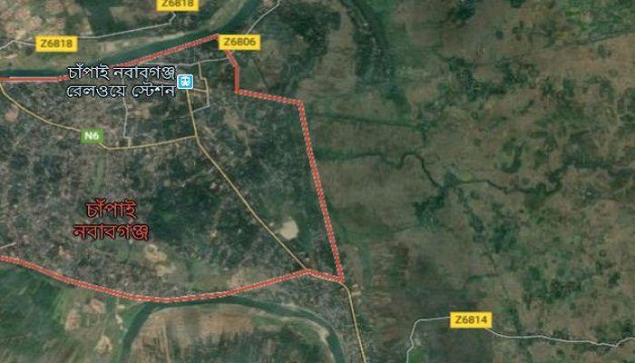 চাঁপাইনবাবগঞ্জে নৌকা ডুবে বাবা-ছেলের মৃত্যু