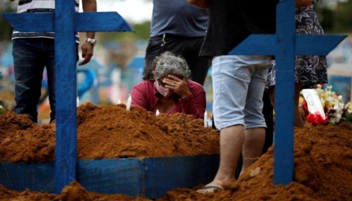 বিশ্বে একদিনে ১৩ হাজারের বেশি মানুষের মৃত্যু করোনায়
