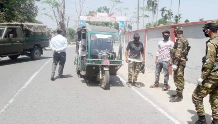 করোনা রোধে গোপালগঞ্জে হাটবাজার ছত্রভঙ্গে সেনাবাহিনী