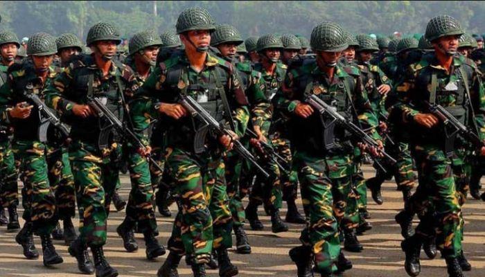 জনবল নেবে সেনাবাহিনী